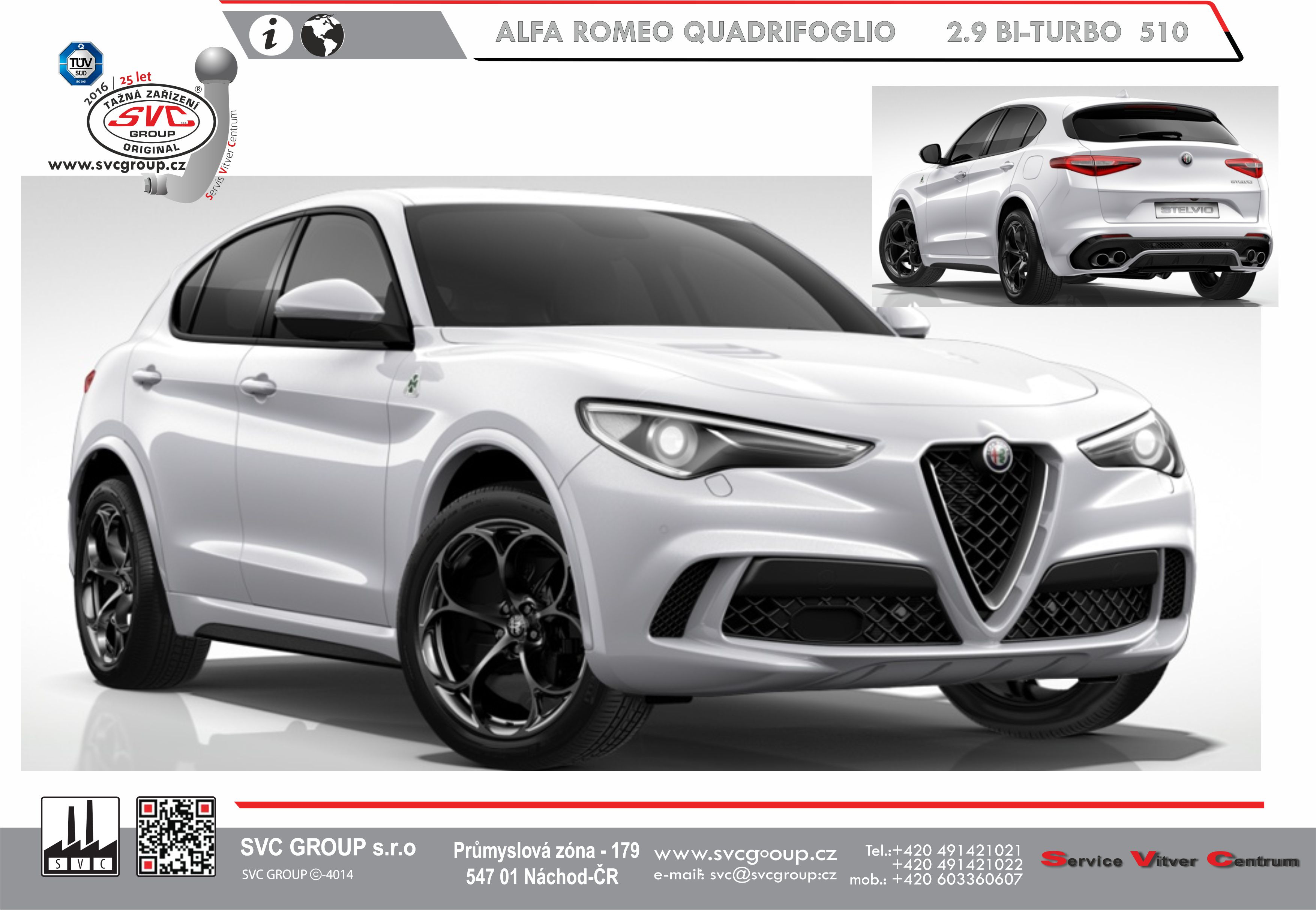 Alfa Romeo QUADRIFOGLIO 2.9 BI-TURBO 510 K