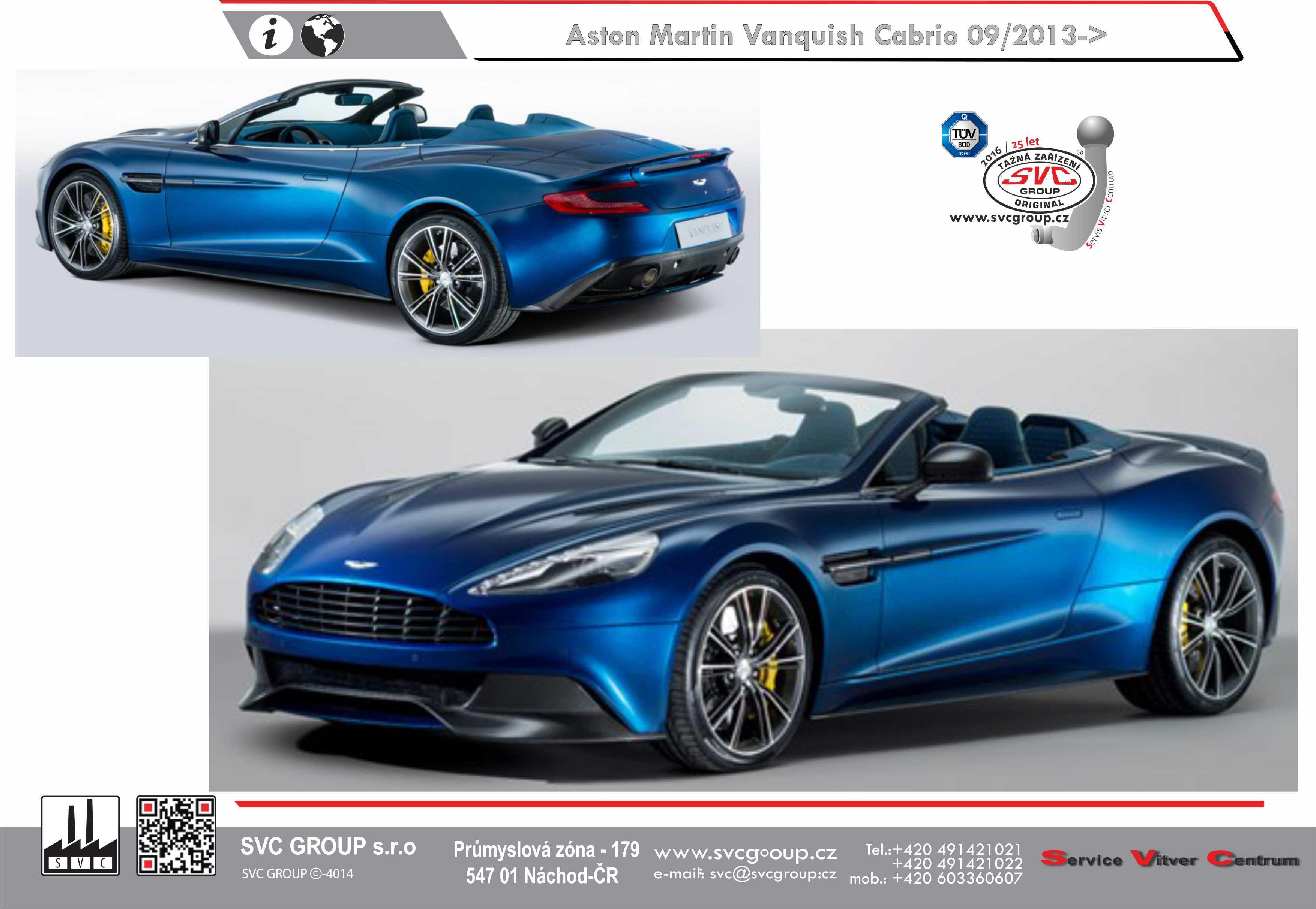 Aston Martin Vanquish Cabrio